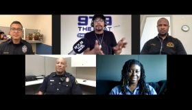 Dallas Police dept. zoom interview