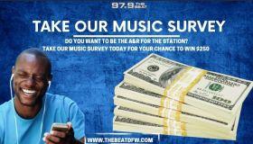 97.9 The Beat Music Survey