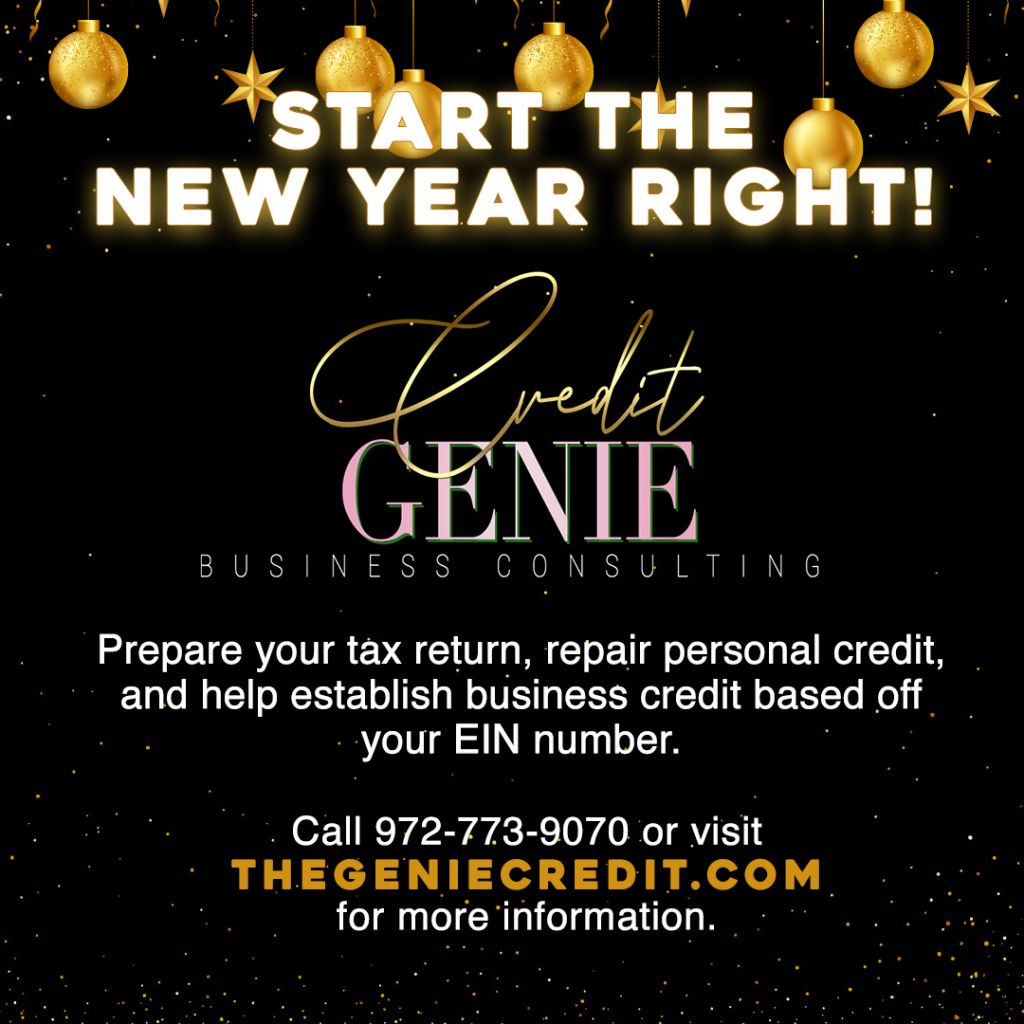 Credit Genie New Year 2021