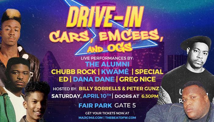 Cars, Emcess, & OG'S Drive-In