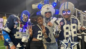 Jazzi Black at the Dallas Cowboys 2021 NFL Draft Party