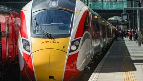 LNER preview of new Azuma trains which will run between London King's Cross and Leeds from 15th of May.