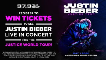 Justin Bieber Justice World Tour Ticket Giveaway