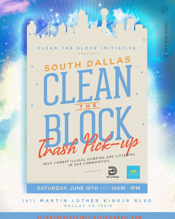 Clean The Block Trash Pick-Up