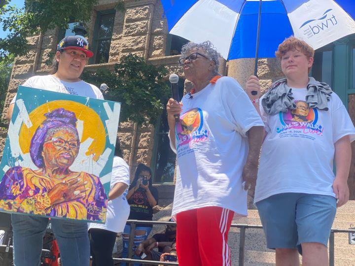 Opal Lee's Juneteenth Celebration