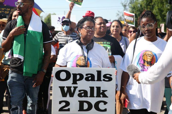 Opal Lee's Juneteenth Parade Celebration