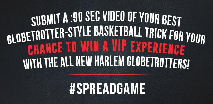 Harlem Globetrotters VIP Ticket Giveaway