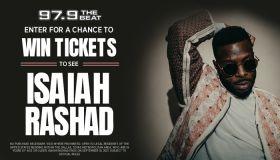 Isaiah Rashad Online Ticket Giveaway