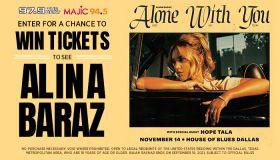 Alina Baraz Online Ticket Giveaway